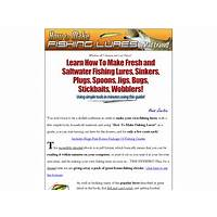 How to make fishing lures great bonus ebooks inexpensive