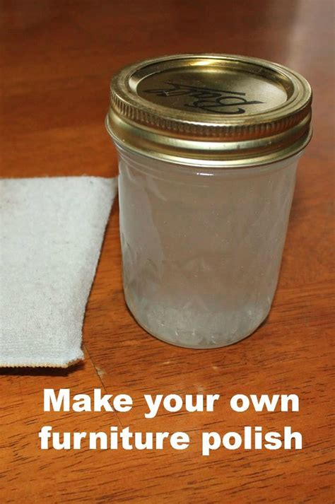 How to make furniture wax Image