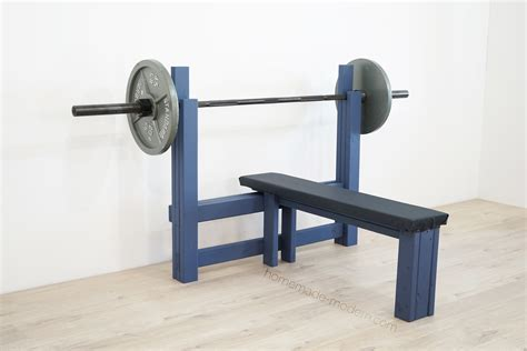 How to make homemade bench press Image