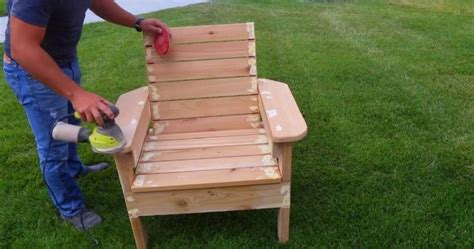 How to make lawn furniture Image