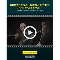 How to make money teaching guitar promo