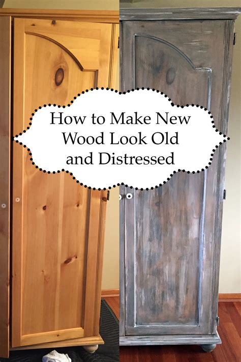 How to make new furniture look distressed Image