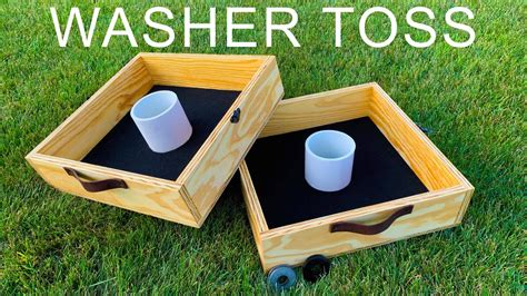 How to make washer toss game Image