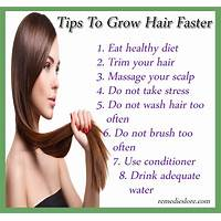 How to make your hair grow faster and sensual guides
