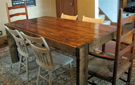 How to make your own dining room table Image
