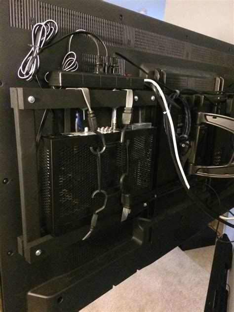How to mount a tv and hide cables Image