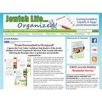 Best how to organize the major jewish holidays!