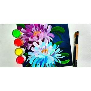 How to paint blooms comparison