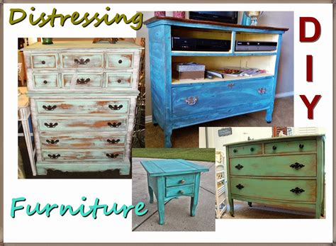 How to paint furniture to make it look old Image