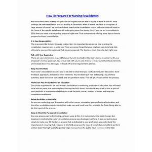 How to prepare for your nursing revalidation how to prepare for your nursing revalidation coupon