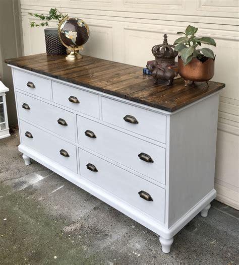 How to refinish dresser wood Image