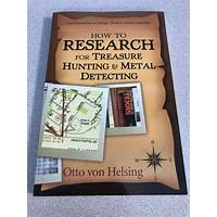 How to research for treasure hunting and metal detecting e book promo codes