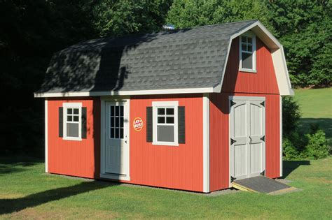 How to roof a barn style shed Image