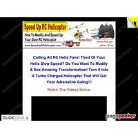Cash back for how to speed up your slow 3 channel rc helicopter