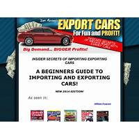How to start a import export car business technique