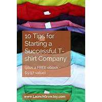 Guide to how to start a tshirt company
