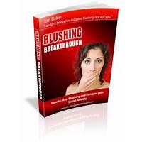How to stop blushing blushing breakthrough by jim baker scam