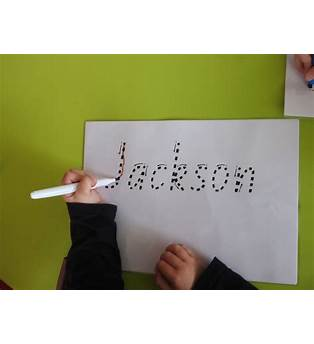 How To Teach A Toddler To Write Their Name