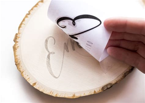 How to transfer patterns for wood burning Image