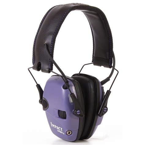 Howard Leight Impact Sport Electronic Earmuffs Impact Sport Electronic Earmuffs Purple