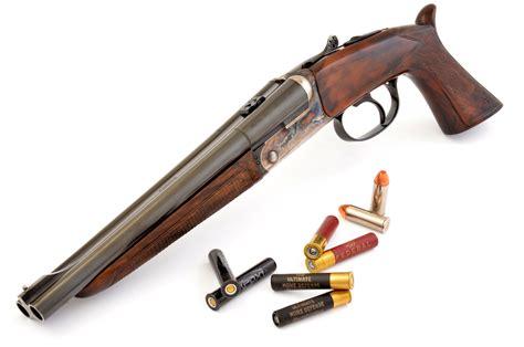 Howdah Double Barrel 45 Colt 410 Pistol Shotgun By Pedersoli