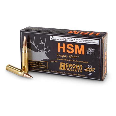 Hsm 168 Grain 308 Ammo