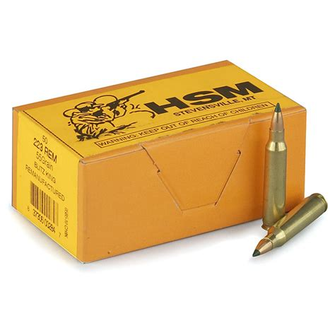 Hsm Ammo Review 223