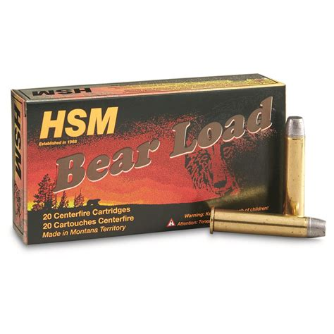 Hsm Bear Load 4570 Ammo Review