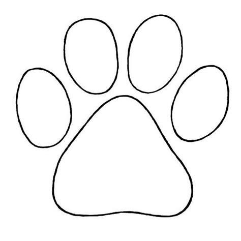 Hundepfote Malvorlage