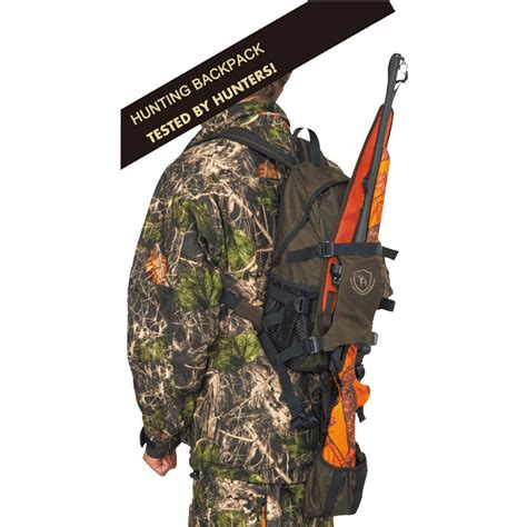 Hunting Backpack With Rifle Carrier