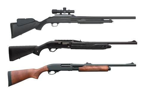 Hunting For Deer With A Shotgun