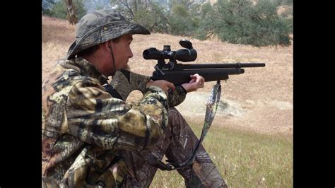 Hunting In California With An Air Rifle