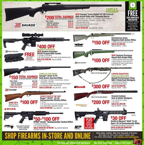 Hunting Rifle Black Friday And Long Eye Relief Rifle Scope Walmart