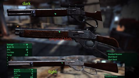 Hunting Rifle Or Lever Action Rifle Fallout 4