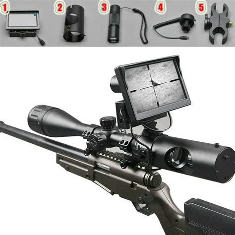 Rifle-Scopes Hunting Rifle Scope Camera.