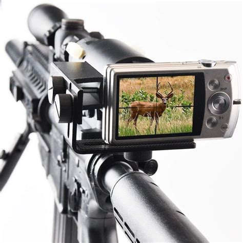 Rifle-Scopes Hunting Rifle Scope Camera Mount.