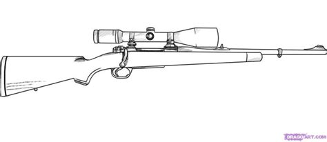 Hunting Rifles Easy To Draw