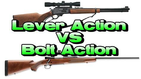Hunting Rifles Vs Bolt Action