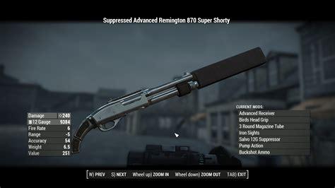 Hunting Shotgun Vs Remington 870 Fallout 4