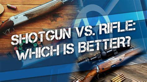 Hunting With A Shotgun Vs Rifle