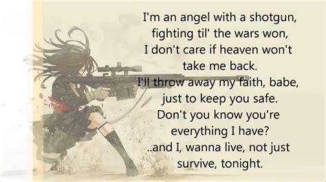 I M An Angel With A Shotgun Lyrics