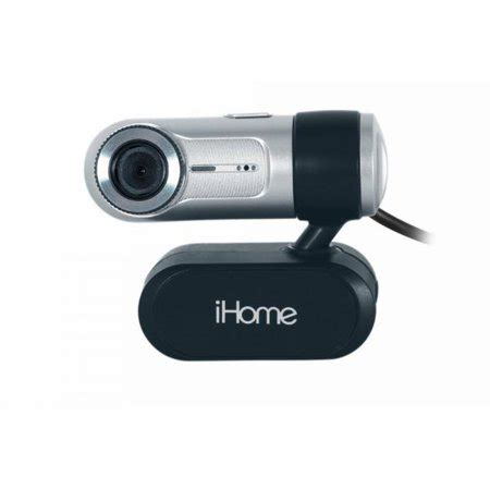 iHome MyLife Notebook Webcam - Silver (IH-W310NS)