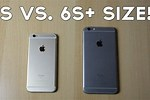 iPhone 6 Plus vs 6s Plus Size