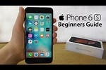iPhone 6s Manual for Beginners