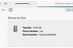 iPhone 6s Software Update