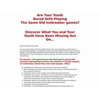 Icebreakers ahead: take it to the next level cheap