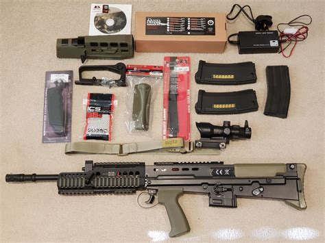 Ics L85 Handguard And Kmr Handguards Made By Bravo Company