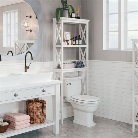 "Ideal 20"" W x 59.25"" H Bathroom Shelf"