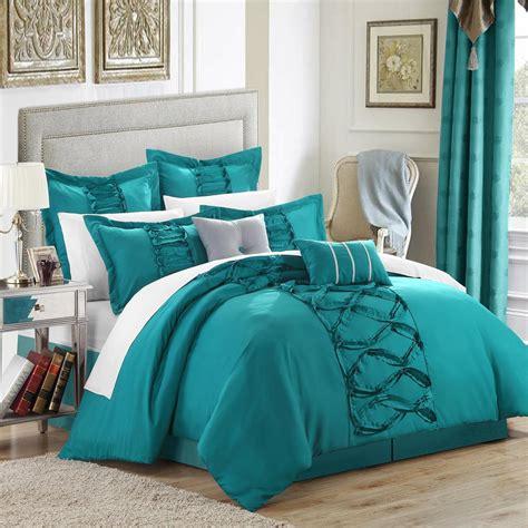 Ideas Aqua Bedding Sets Design