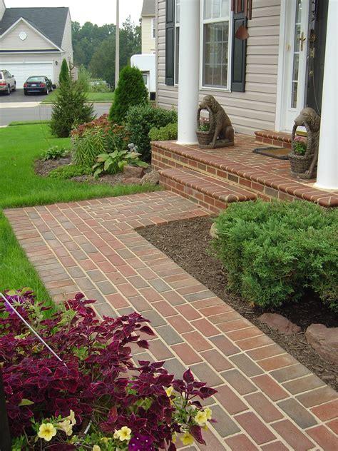 Ideas For Brick Sidewalk Design